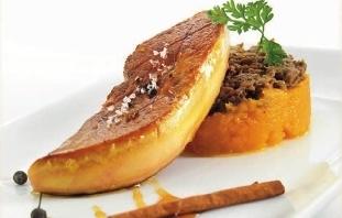 Escalopa de foie gras